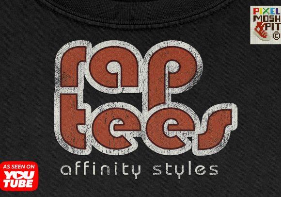 rap tee styles affinity photo, rap tee styles, vintage bootleg tee styles